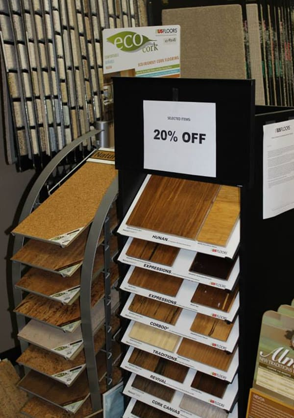 Most recommended flooring store serving the Keller, TX area