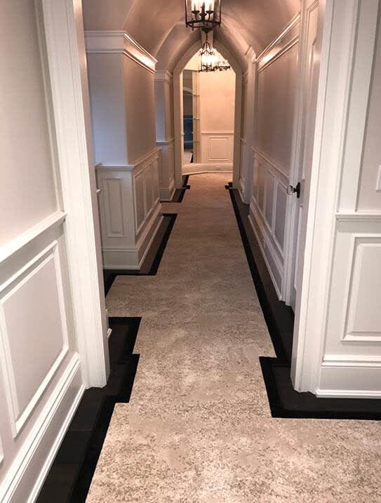"""""""Nalbandian"""" Custom carpet runner in Upper Saddle River, NJ from G. Fried Flooring & Design"""