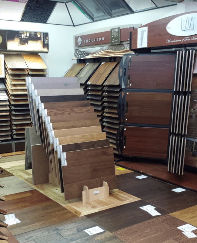 Hardwood in Lebanon, PA from the Home Improvement Outlet showroom