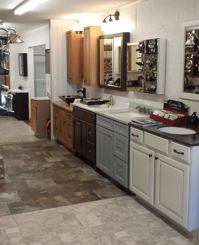 Tile floors in Reading, PA from the Home Improvement Outlet showroom