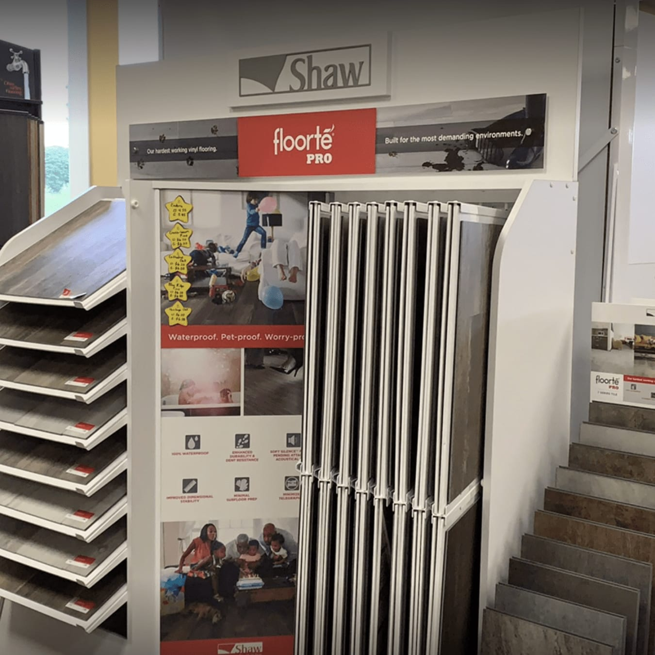 Shaw flooring products for your Midway, KY home from Kevin's Carpets
