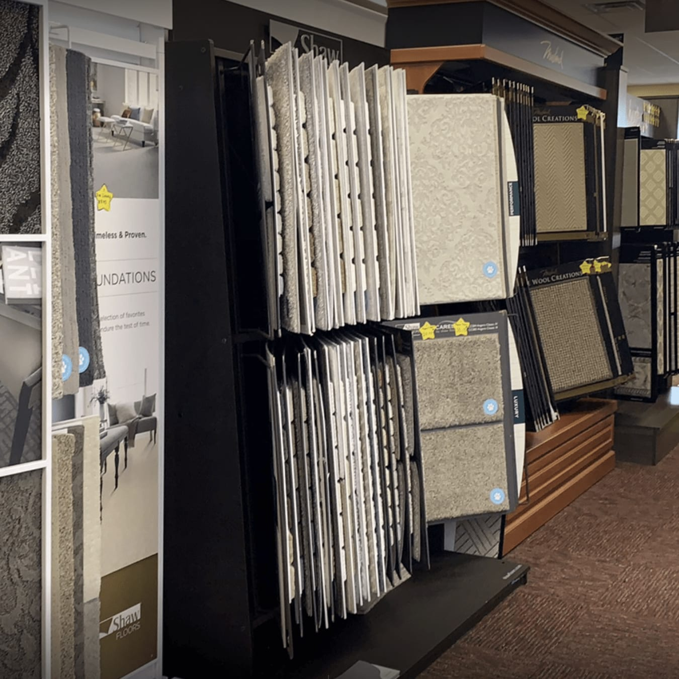 Carpet options for your Versailles, KY home from Kevin's Carpets