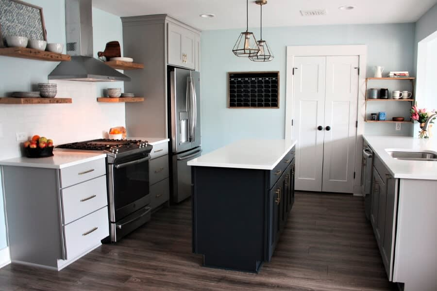 View work from LITTLE Wood Flooring & Cabinetry in the  area