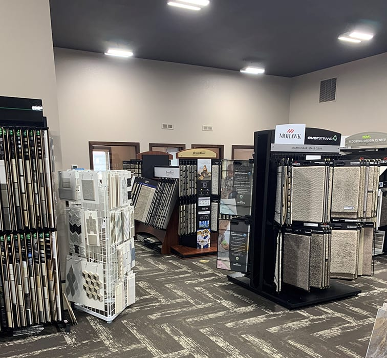 Most recommended flooring store serving the Moorhead, MN area