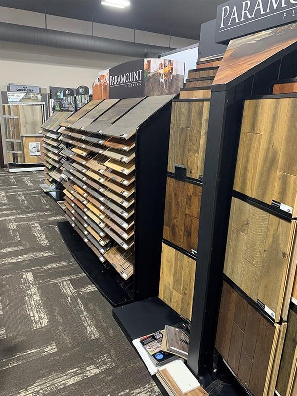 Flooring shop serving the West Fargo, ND area
