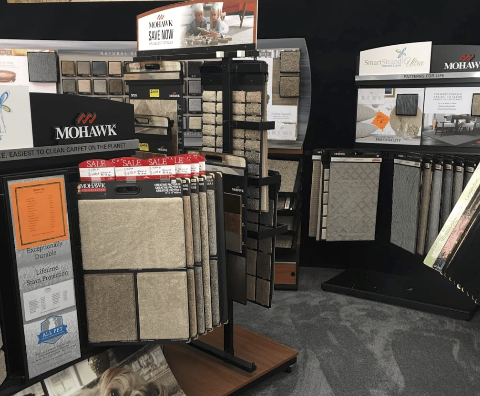 Carpet in Saint Paul, MN from the Seestedt's showroom