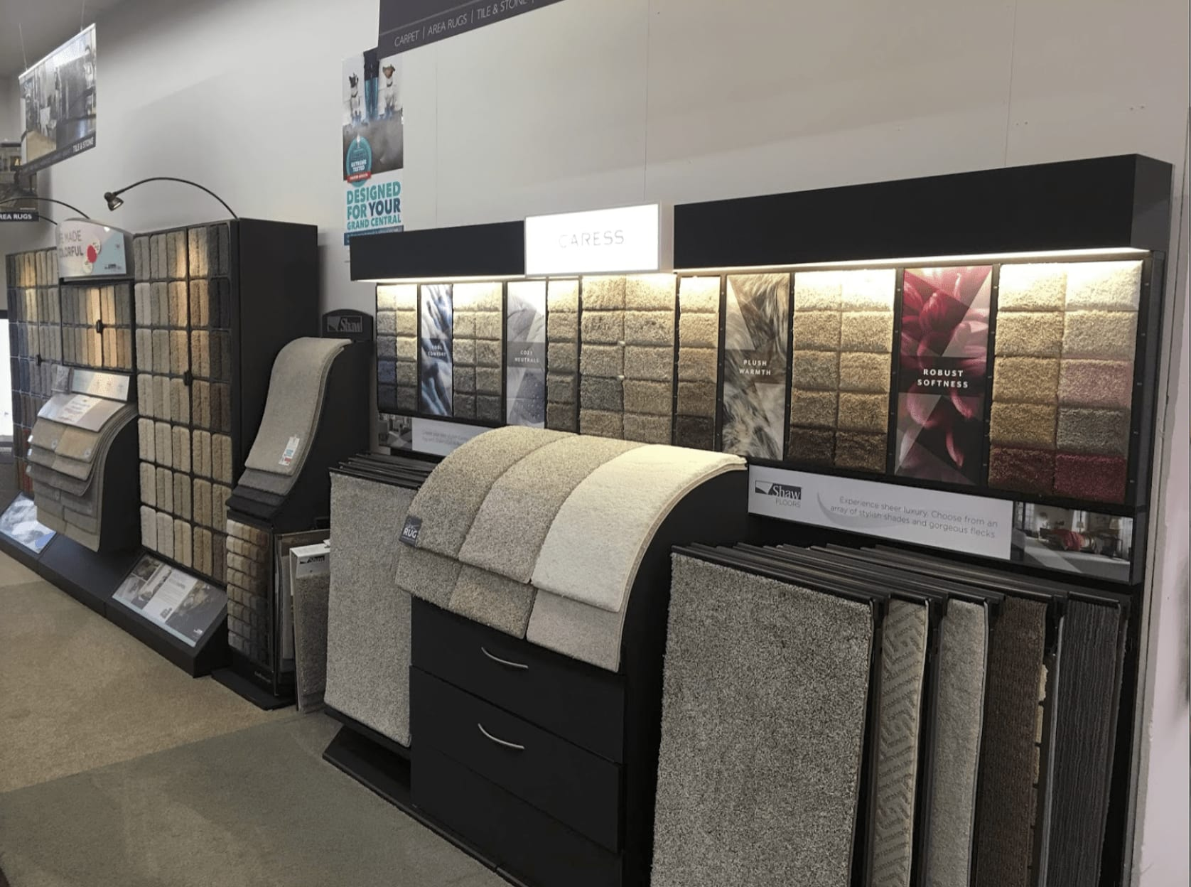 Carpet flooring in Woodbury, MN from the Seestedt's showroom