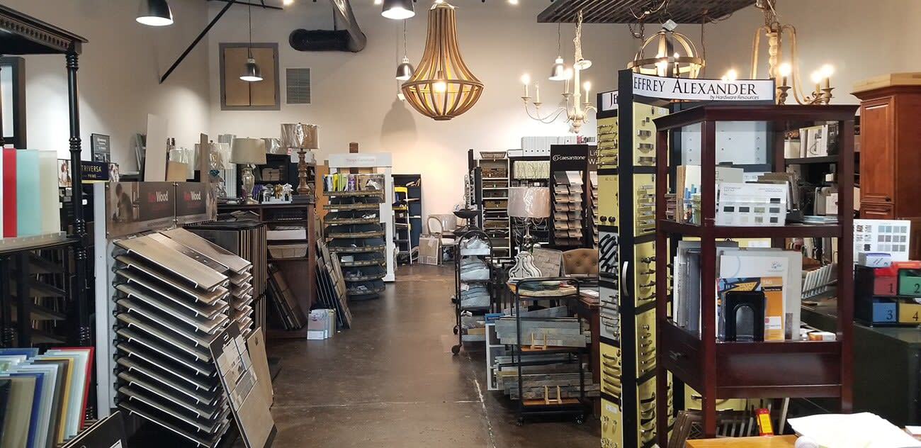 Visit our showroom at Total House + Flooring