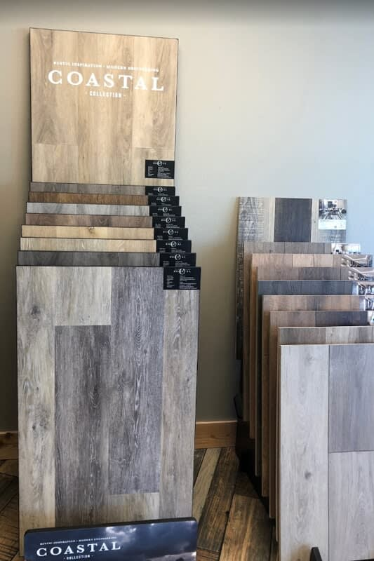 Urban Flooring showroom near Norman, OK