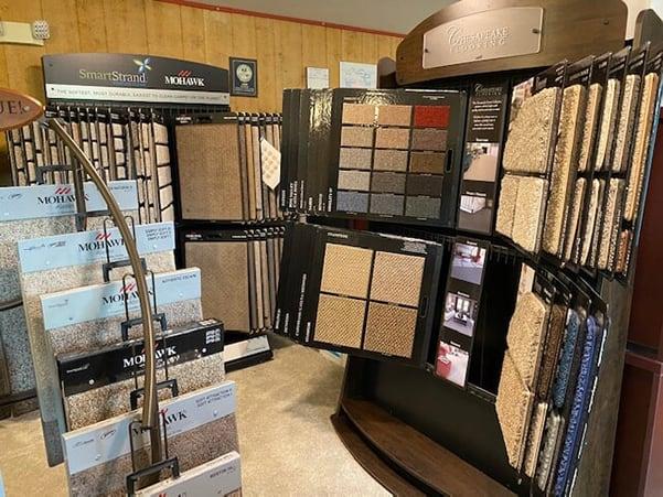 Flooring shop serving the Wytheville, VA area