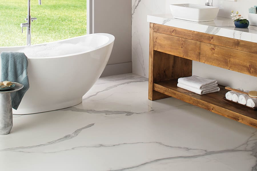 Bathroom remodeling in Huntersville, NC from LITTLE Wood Flooring & Cabinetry