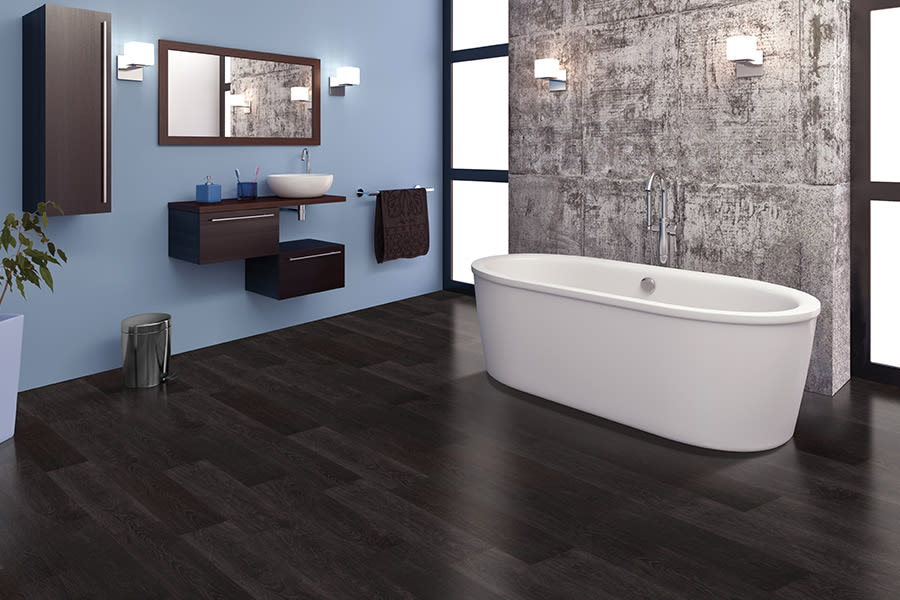 The newest trend in floors is Luxury vinyl  flooring in Davidson, NC from LITTLE Wood Flooring & Cabinetry
