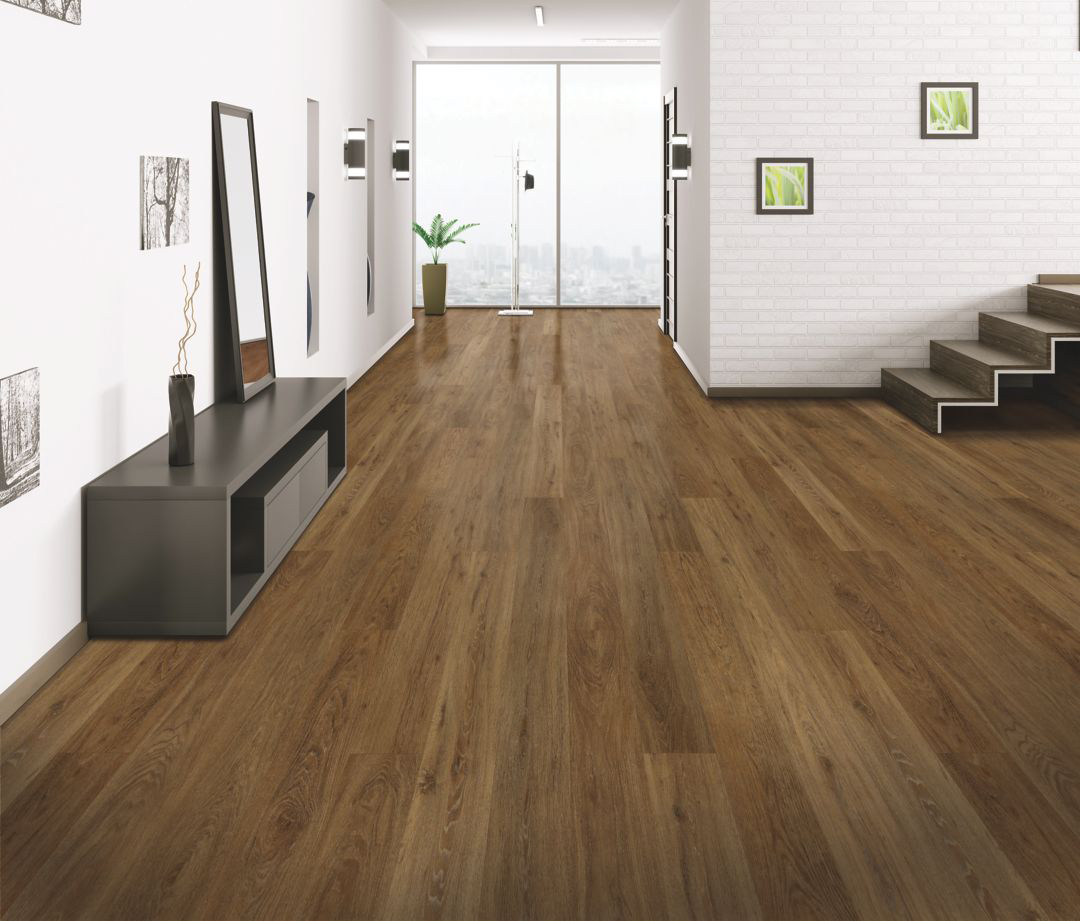 Pick one flooring type and stick with it