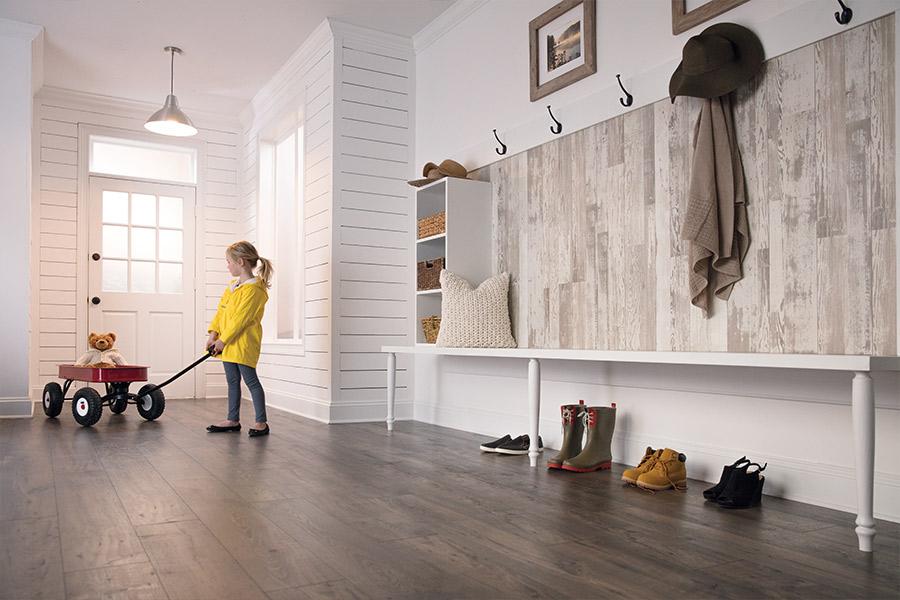 Laminate floor accents in Burlington VT from Elegant Floors