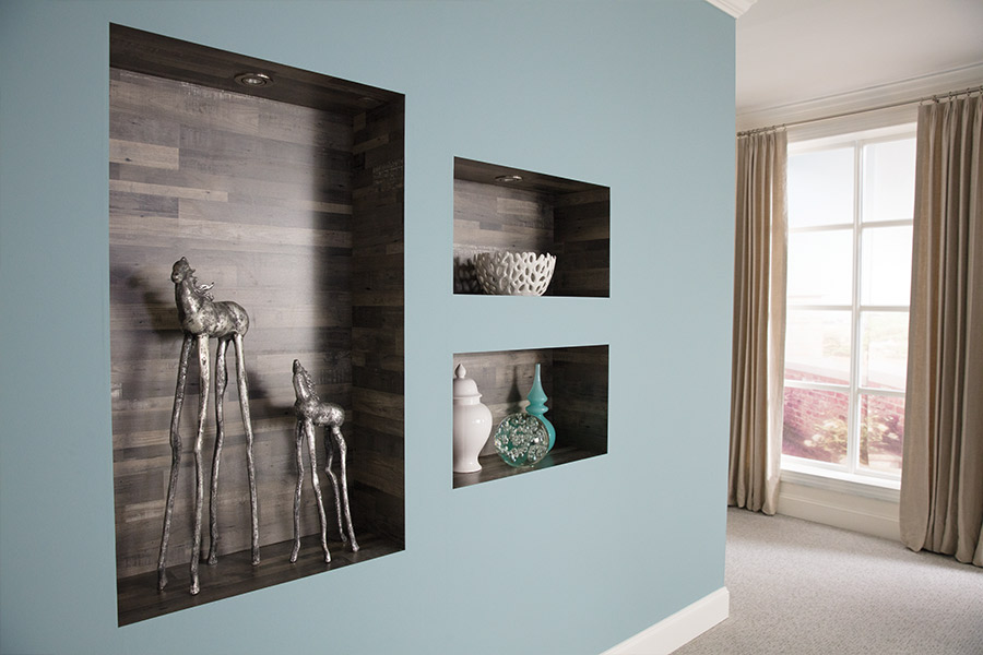 Laminate wall accents in Portland, OR from Marion's Carpet & Flooring Warehouses