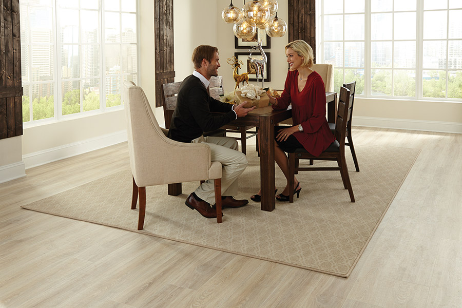 Beautiful Laminate for your Fort Bragg, NC dining room from Cape Fear Flooring and Restoration