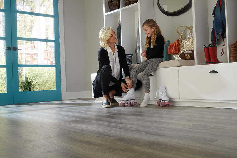 Family friendly laminate floors in Rocky River, OH from WestBay Floor Source