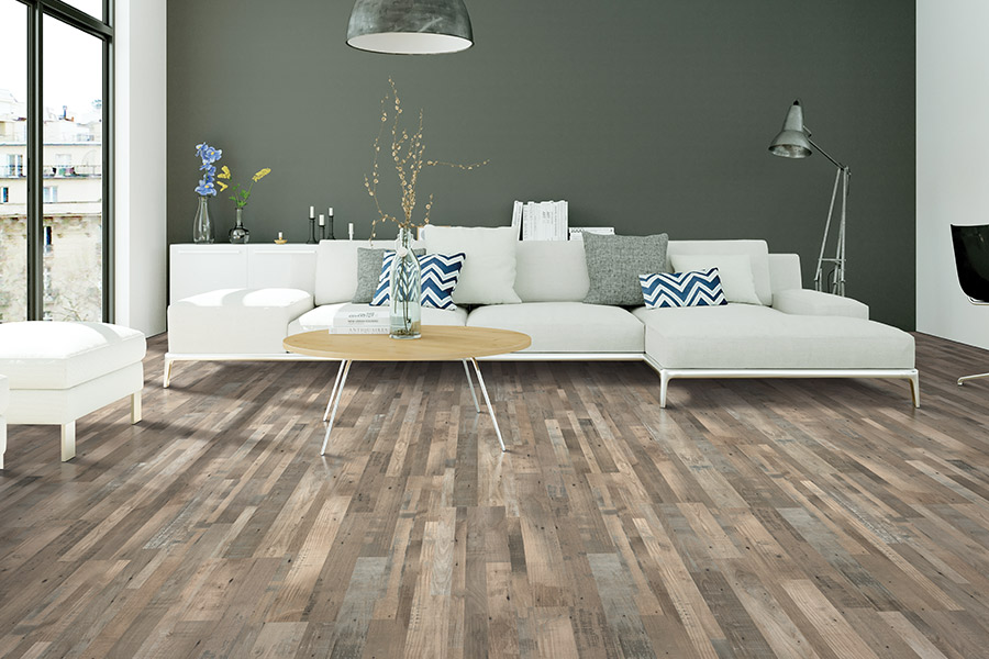Laminate floor installation in North Port FL from Floors Your Way by the Pad Place