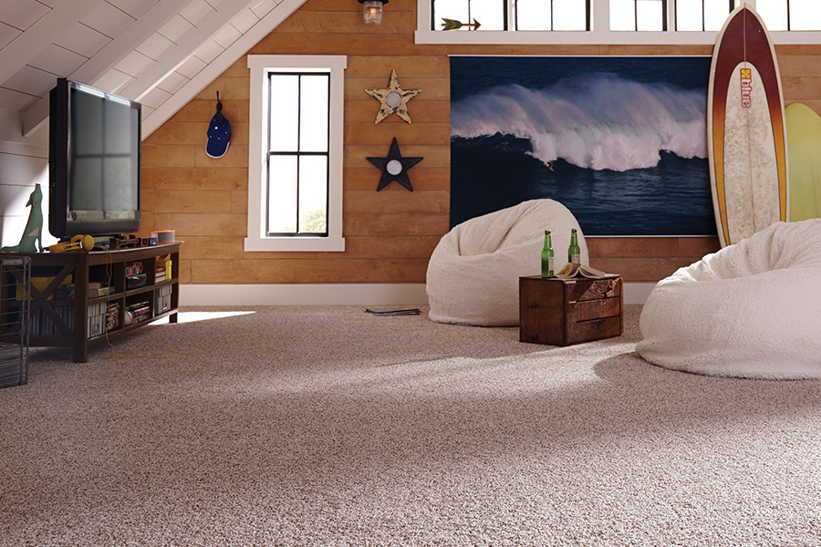 Family friendly carpet in White Cloud MI from Herb's Carpet & Tile