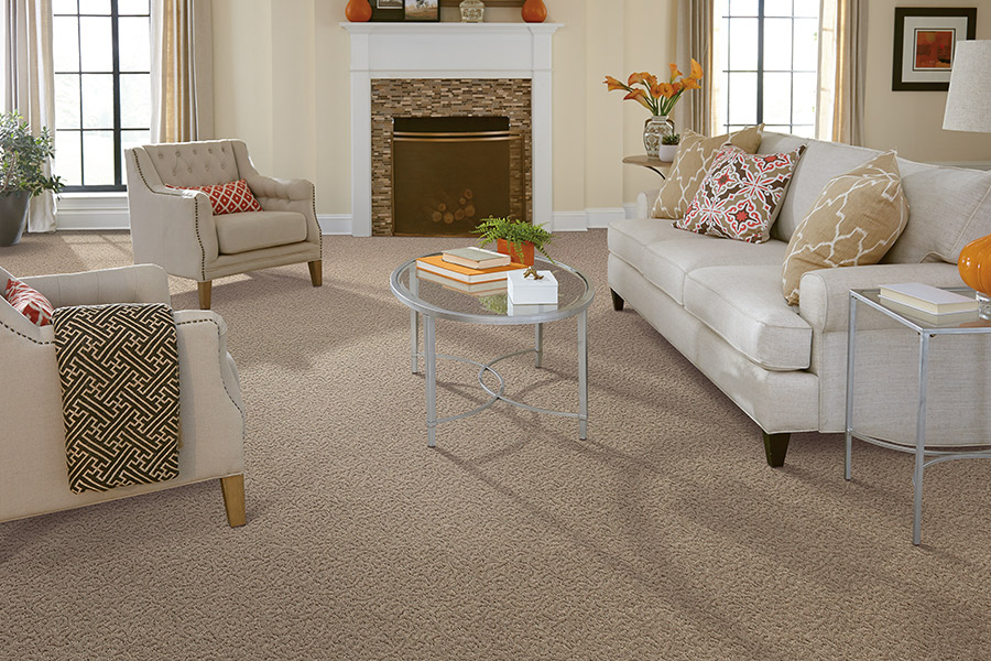 Living room carpet flooring in Atlanta area by Select Floors