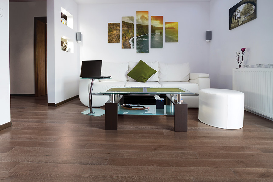 Modern hardwood flooring ideas in Hillsborough, CA from Harry's Carpets