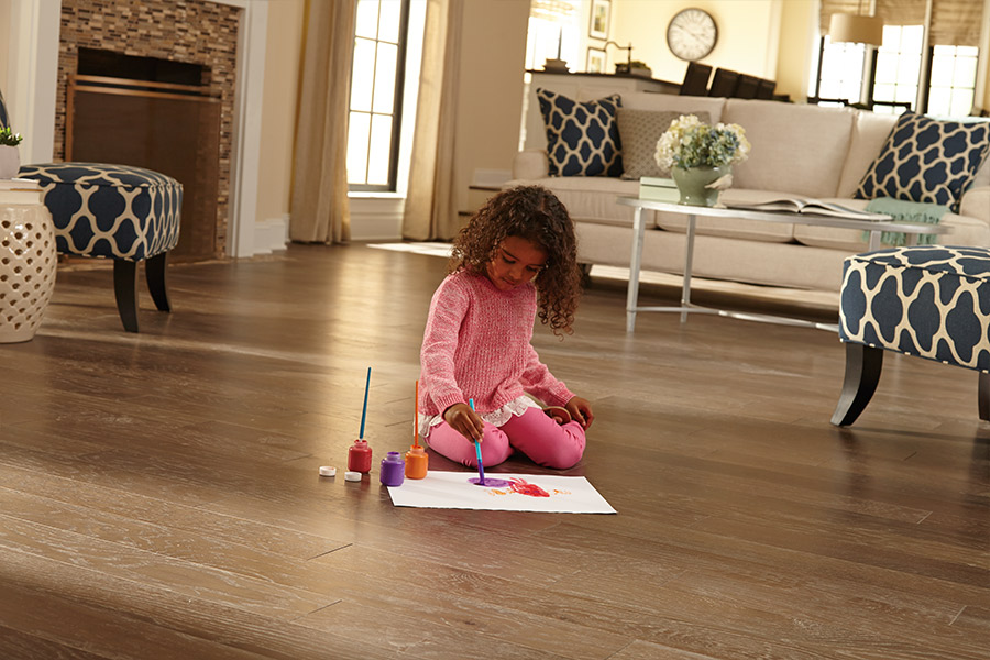 Durable wood floors in Delta BC from Island Carpet Sales LTD