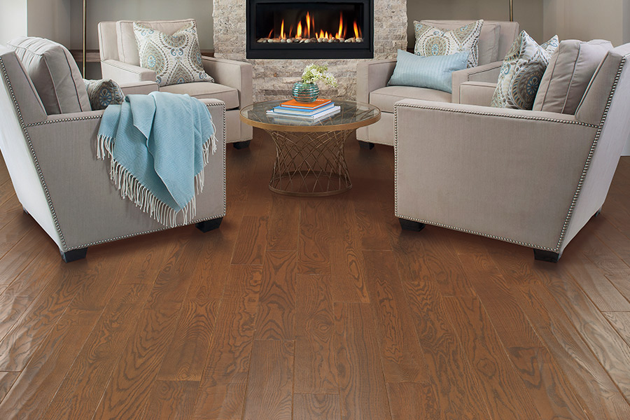 Contemporary wood flooring in Lake Zurich IL from Luna Flooring Gallery