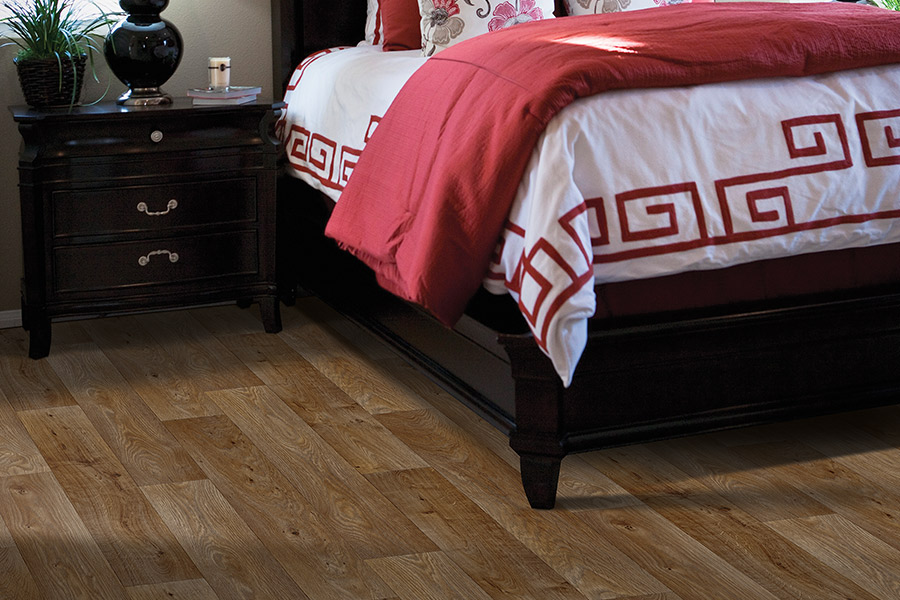 Wood look luxury vinyl plank flooring in Portage MI from Wenke Flooring Design