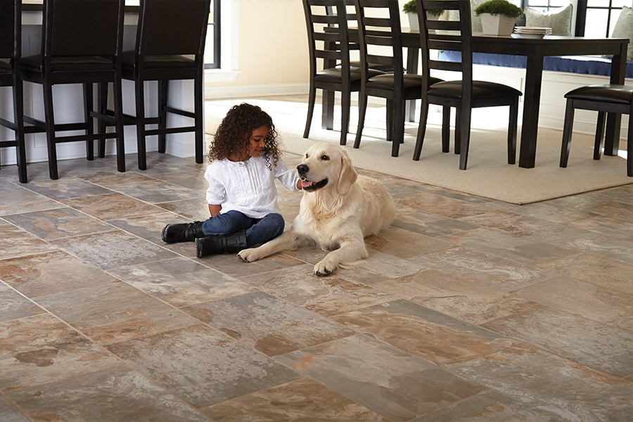 Family friendly tile flooring in Powell TN from Johnson and Sons Flooring