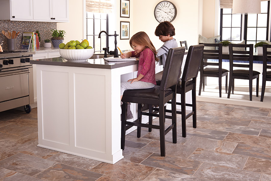 Family friendly tile flooring in Avon Lake, OH from WestBay Floor Source