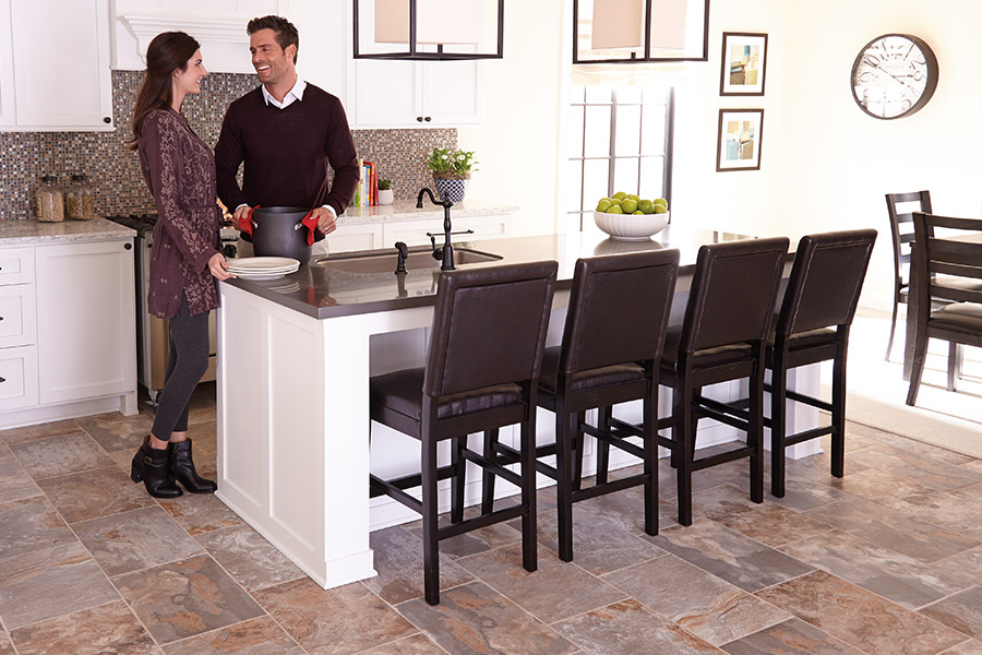 The Omaha, NE area's best tile flooring store is Kelly's Carpet