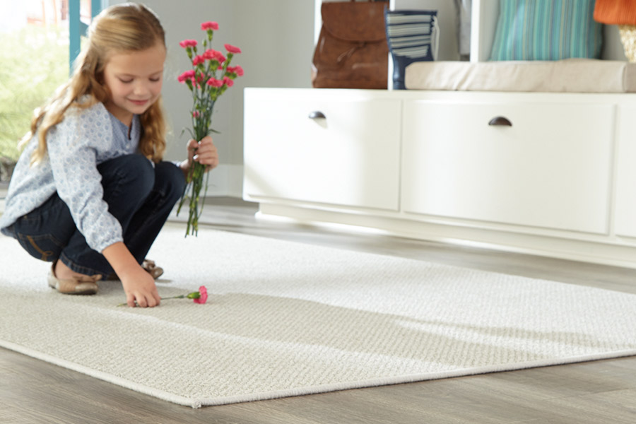 Indoor white area rugs in Rye, NY from Kanter's Carpet & Design Center