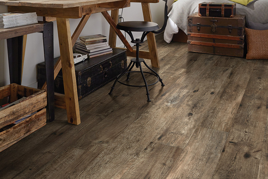 The Plymouth area's best luxury vinyl flooring store is Precision Floors & Decor
