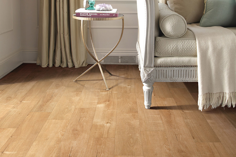 Wood look luxury vinyl plank flooring in Big Bear, CA from Haus of Floor Decor