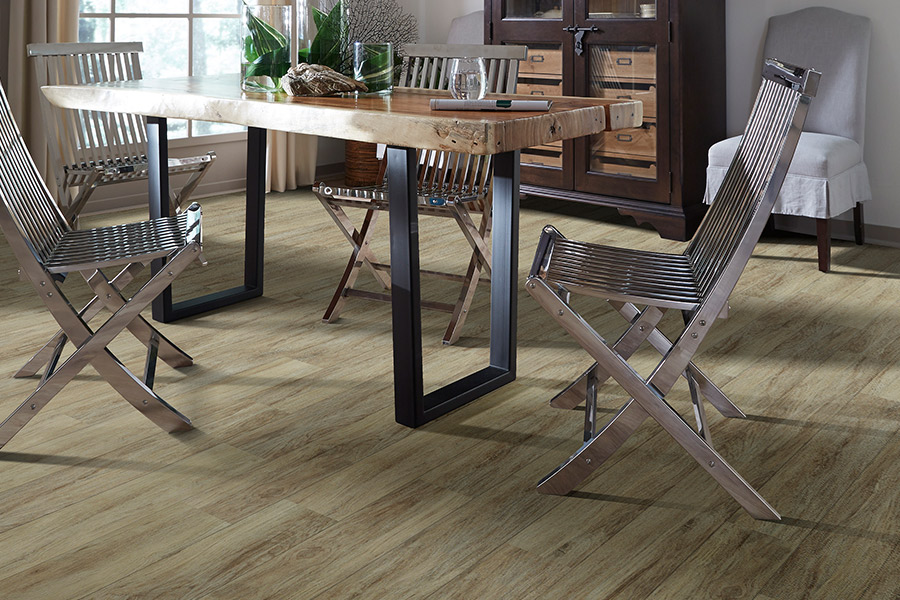 Wood look luxury vinyl plank flooring in Baltimore, MD from Carpet Concepts