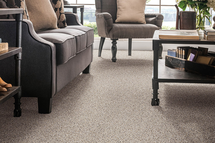 Beautiful textured carpet in Windsor, CO from JT Flooring