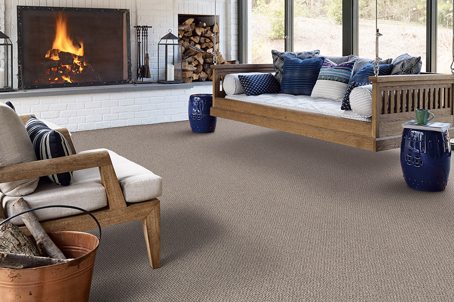 Beautiful textured carpet in Wayland , NY from Skip's Custom Flooring