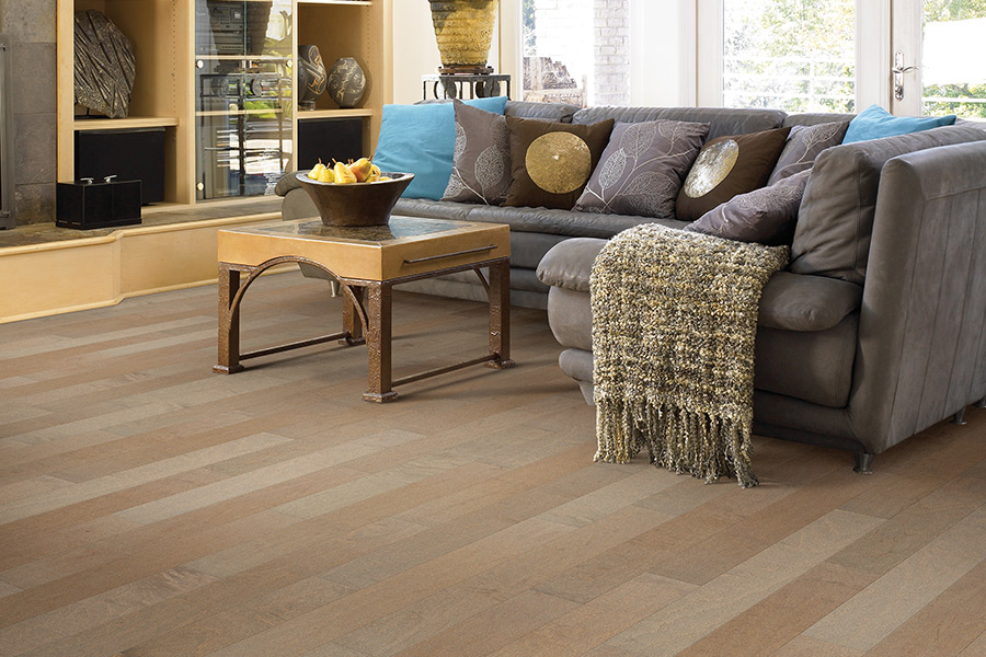 Contemporary wood flooring in Bunker Hill Village, TX from Floor Inspirations