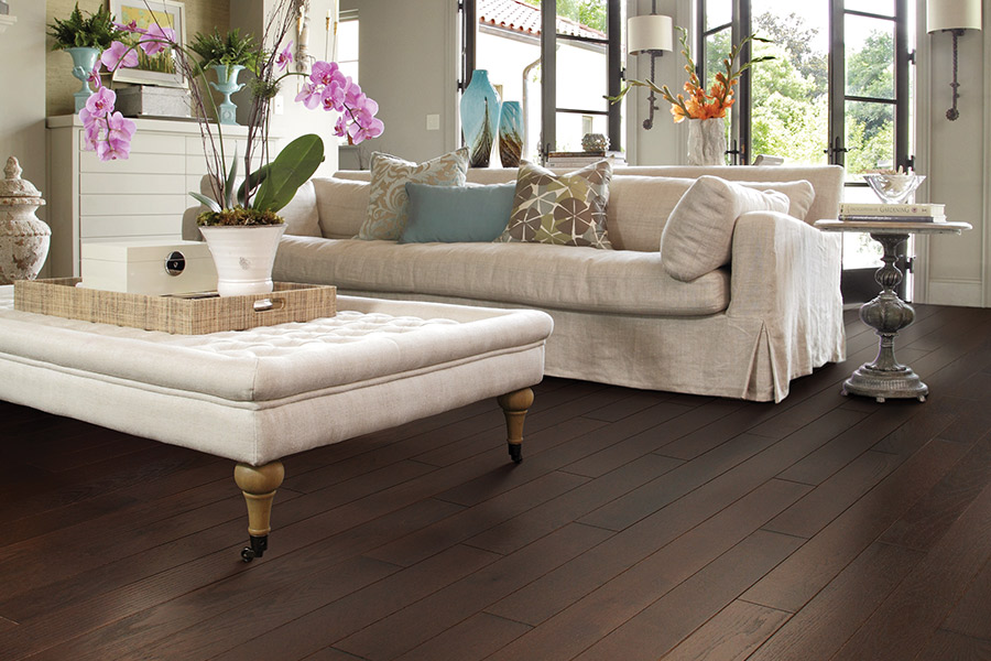 Wood floor installation in Houston, TX from Floor Inspirations