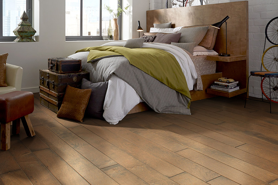 Contemporary wood flooring in Campbell, CA from Lambert & Sons Floor Covering