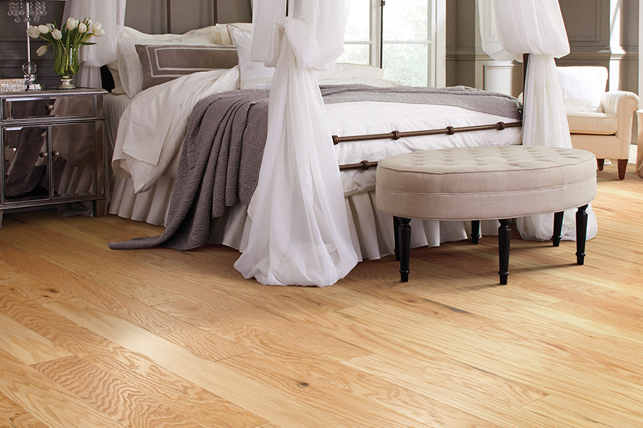 Wood floor installation in Cathedral City, CA from Prestige Flooring Center
