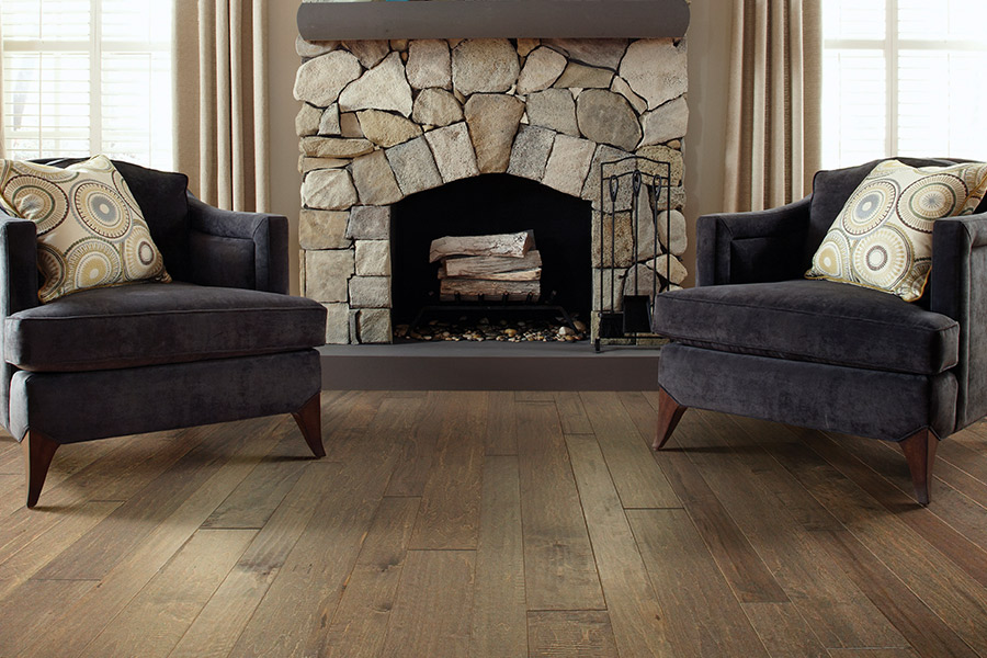 Modern hardwood flooring ideas in Anaheim Hills, CA from Pat's Carpet