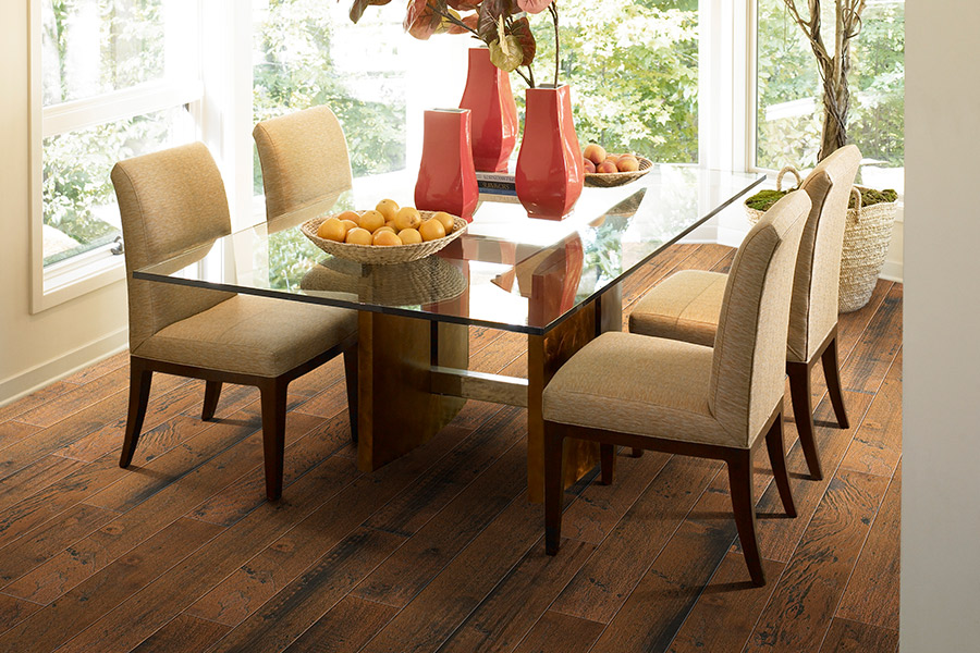 The Mt. Pleasant area's best hardwood flooring store is Shumate Floor Covering