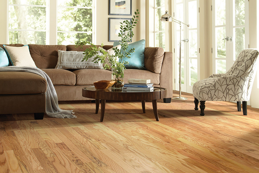 Hardwood floor installation in Sky Valley, CA from Prestige Flooring Center