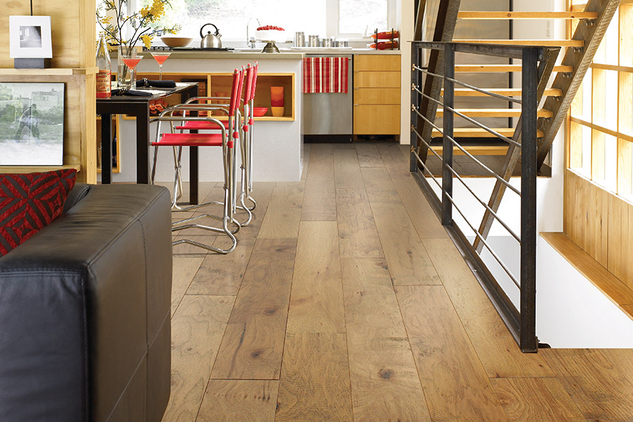 Contemporary wood flooring in Folsom, CA from Central Valley Floor Design