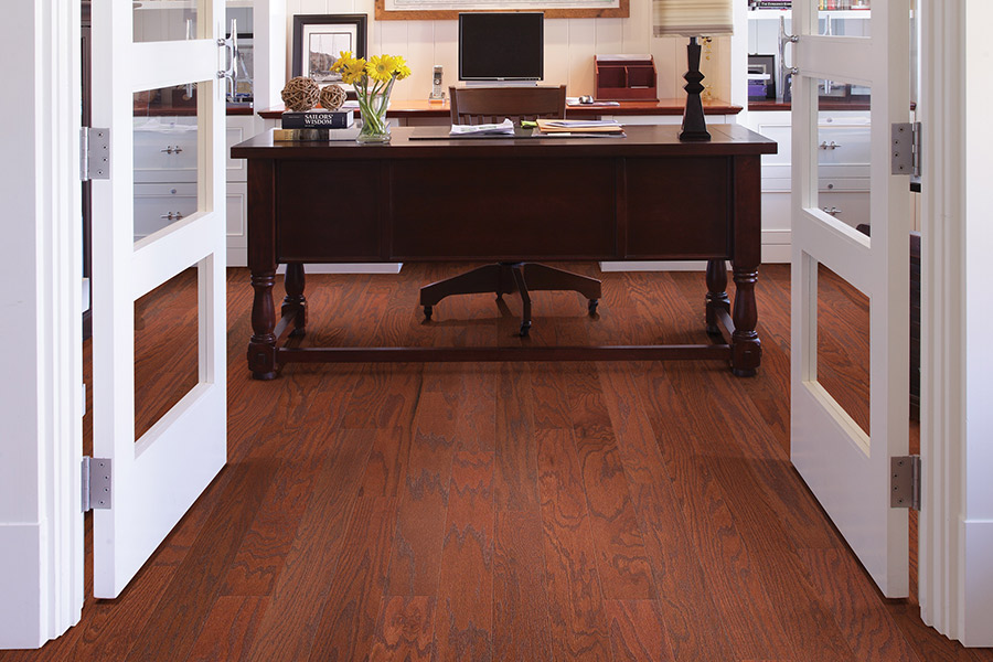 Hardwood floor installation in Monument, CO from Hardwood Flooring Specialist