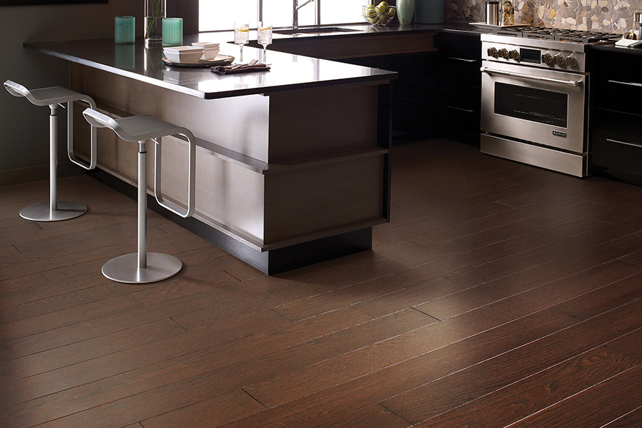 Hardwood flooring in Oklahoma City Proper from Smith Carpet & Tile Center