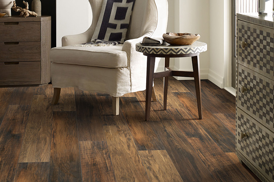 Wood look laminate flooring in Lakeland, TN from Cordova Carpet