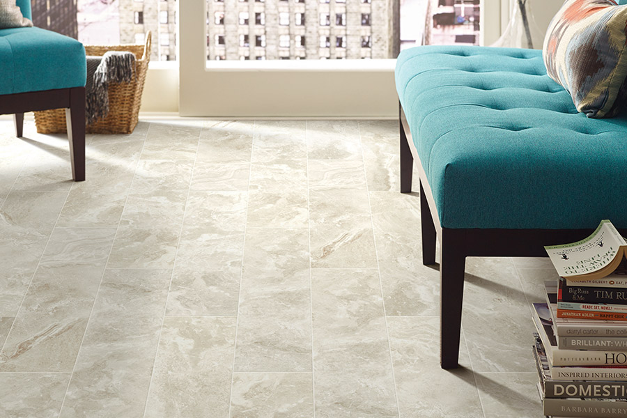 Family friendly tile flooring in Palm Springs, CA from Prestige Flooring Center