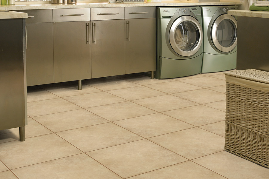 Family friendly tile flooring in New Tampa, FL from E&W Carpets